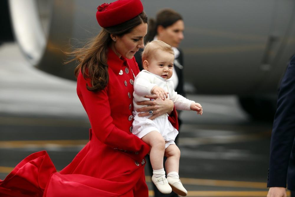 Герцогиня Кэтрин наняла телохранителя для своей юбки
