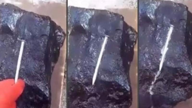 В Мьянме нашли камень, который плавит металл