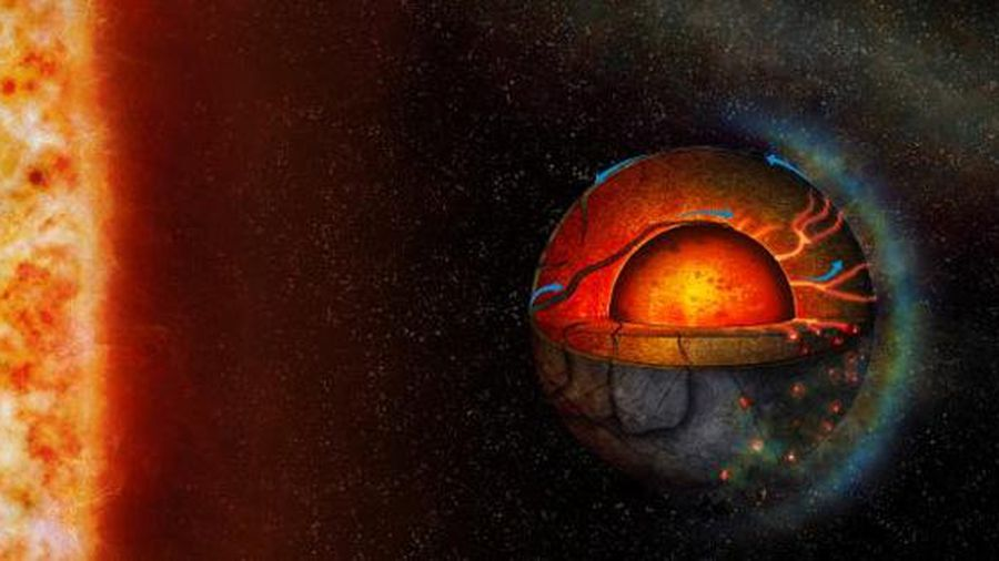 На далекой экзопланете обнаружена странная тектоническая активность