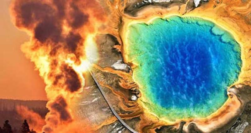 В йеллоустоунских гейзерах испарилась вода