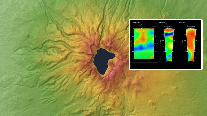 В китайском вулкане рядом с поверхностью обнаружена «мантийная аномалия»