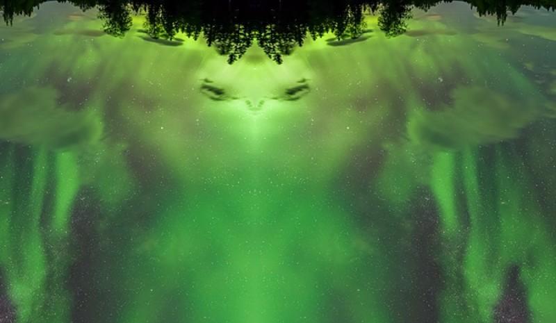 Фотограф из Швеции запечатлел в облаках инопланетянина