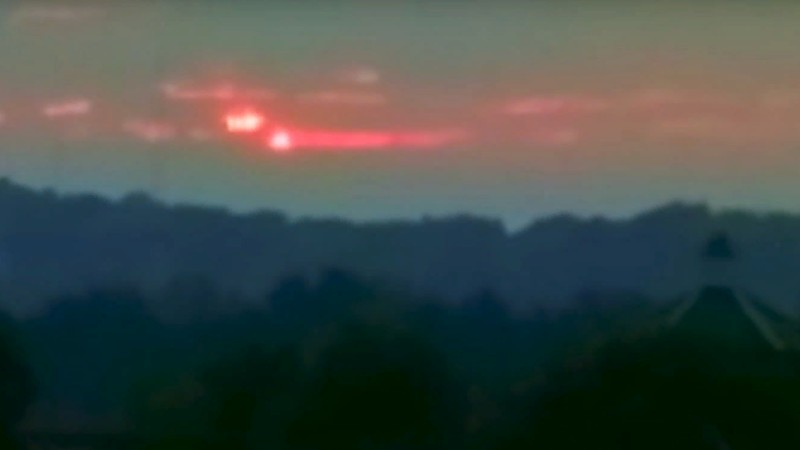 Над США одновременно взошли два Солнца