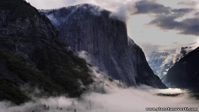 Йосемитский национальный парк весной (Видео)