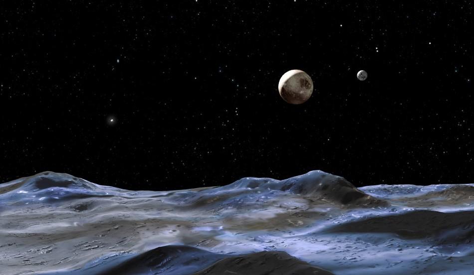 Ученые НАСА обнаружили ледяные вулканы на Плутоне