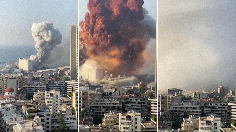 Взрыв в Бейруте был настолько сильным, что нарушил ионосферу Земли