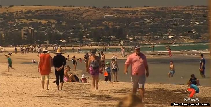 Вторая волна экстремальной жары накрыла Австралию