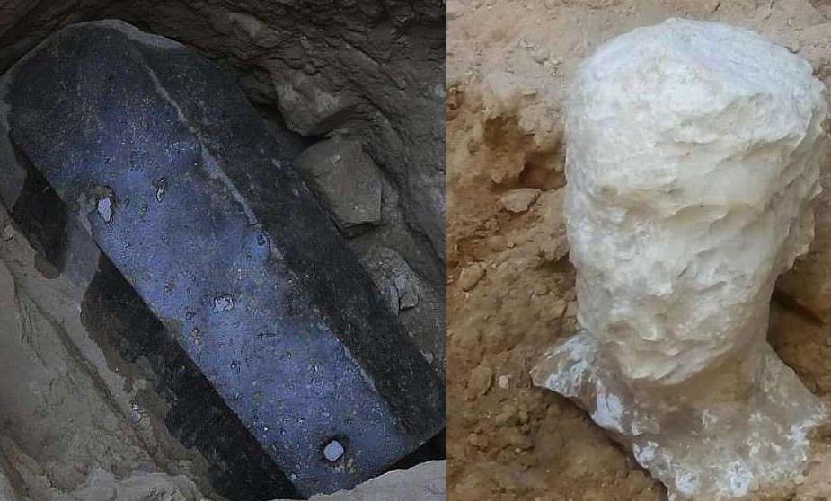 Археологи нашли в Египте саркофаг гиганта