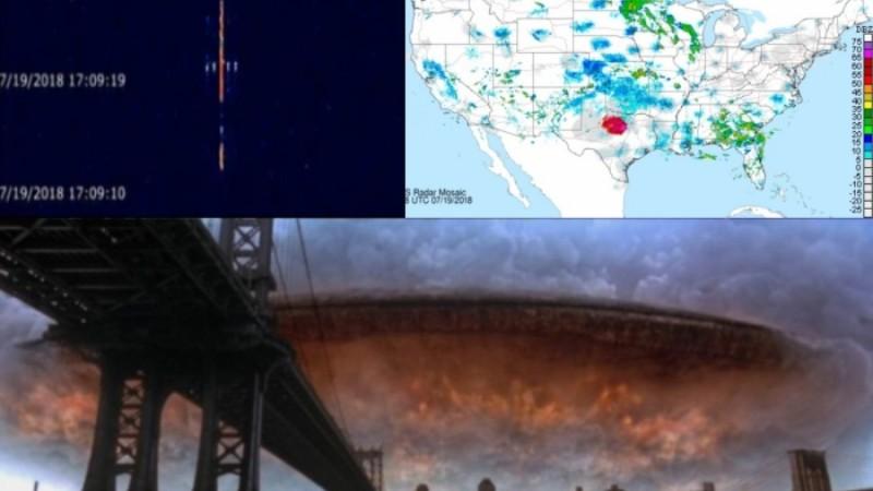 Радары зафиксировали над Техасом гигантский объект