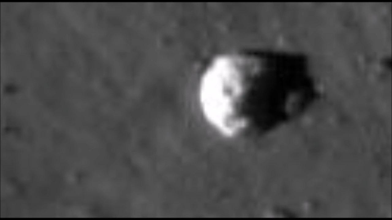 На Луне нашли череп странного животного