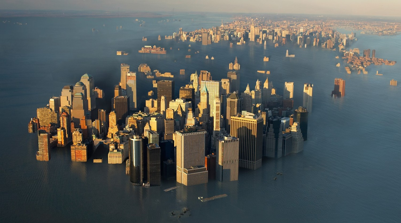 Ученые из США показали, как будет выглядеть Нью-Йорк в 2140 году