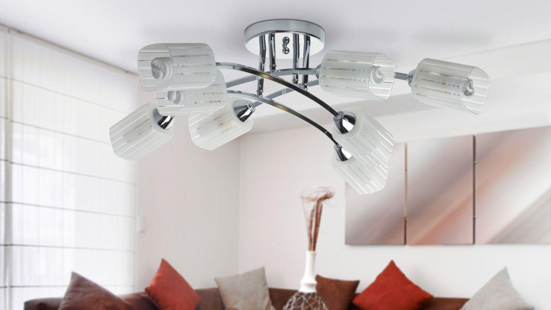 Правила выбора люстры для низких потолков
