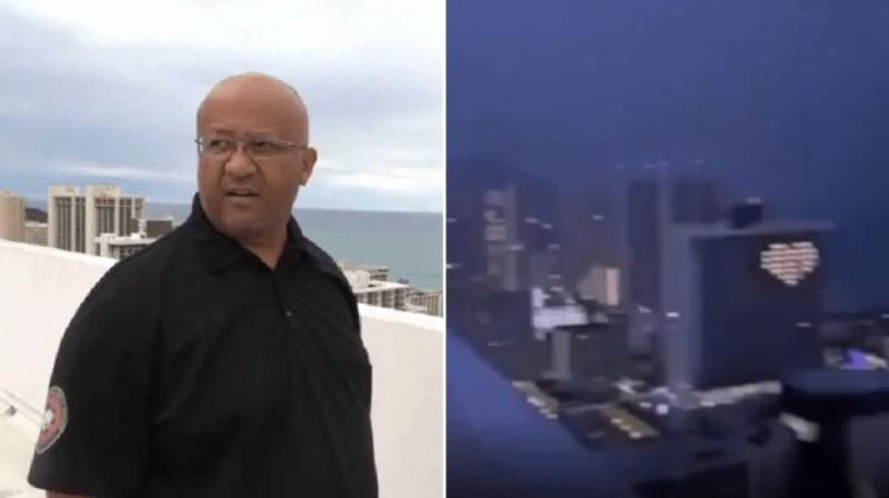 Мужчина пошутил, что в него может ударить молния и через несколько секунд это произошло