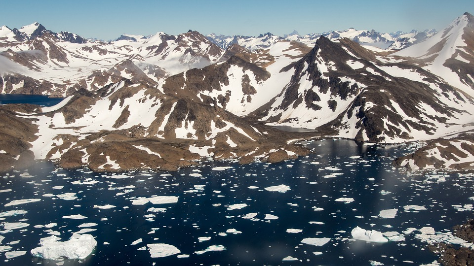 В ледниках Гренландии нашли следы существования древней цивилизации