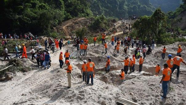 Гватемала – Оползень убил по меньшей мере 30 человек, около 600 считаются пропавшими