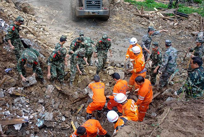 Оползень на юго-западе Китая унес жизни трех человек