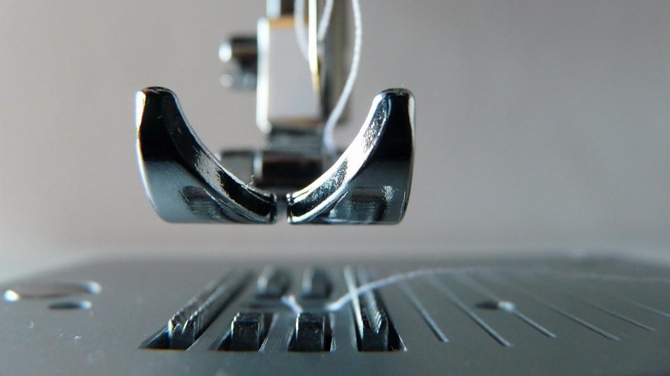 Как шить на промышленной швейной машине