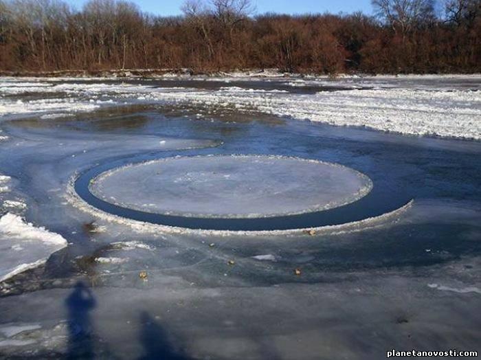 Необычное явление на реке Кубань