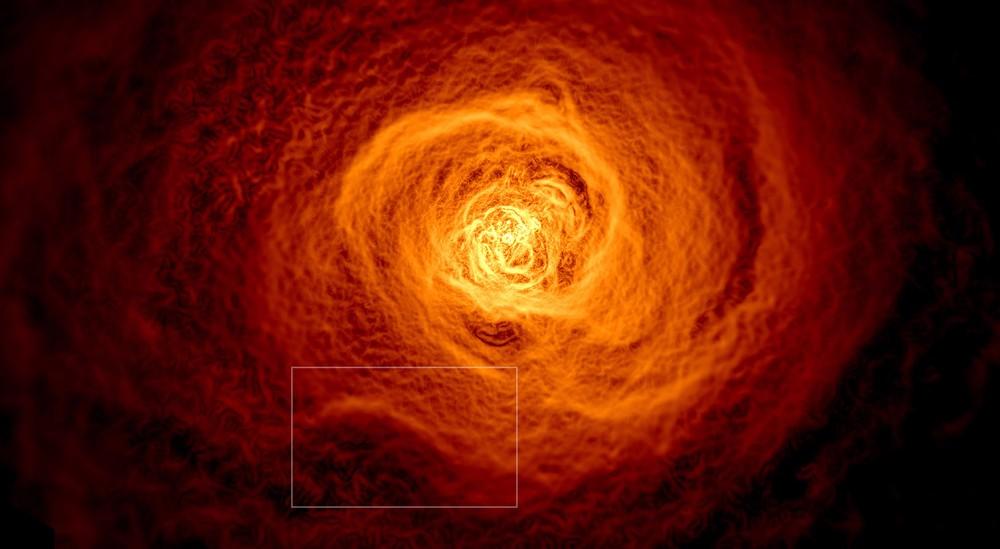 Учеными обнаружена гигантская космическая волна размерами больше Млечного Пути
