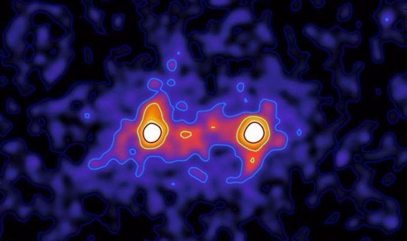 Ученые получили первое фото темной материи
