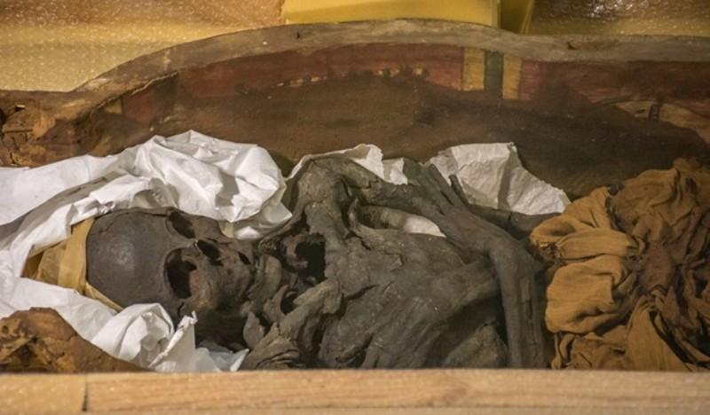 В Киево-Печерской Лавре нашли саркофаги с древнеегипетскими мумиями