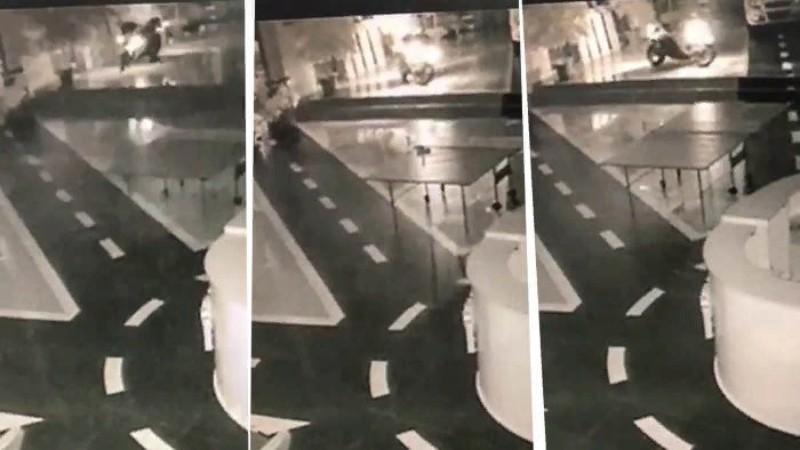«Призрачный гонщик» пытался угнать мотоцикл из автосалона