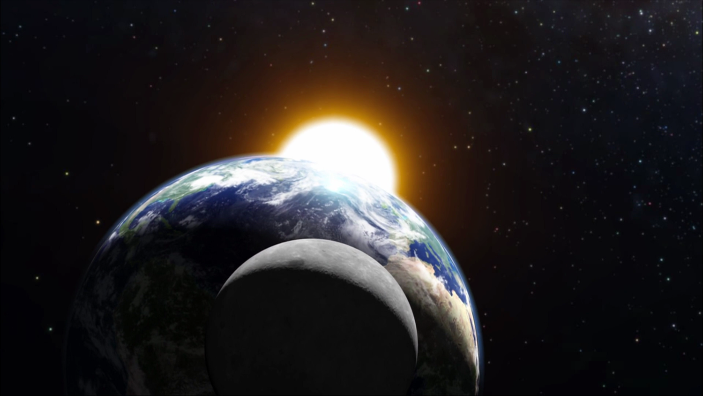 Гравитация Солнца и Луны вызывает землетрясения