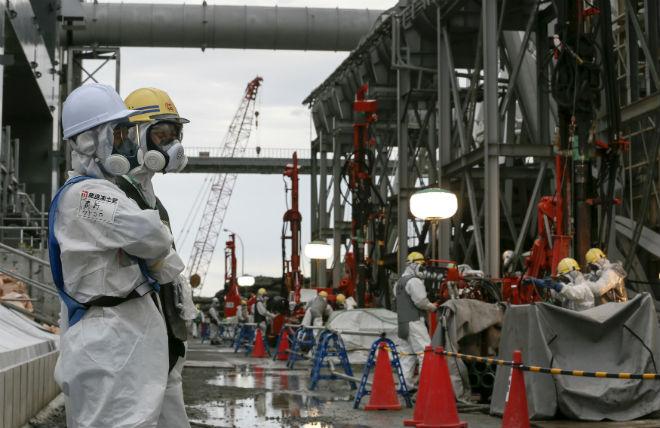 На АЭС «Фукусима-1» продолжается откачка радиоактивной воды