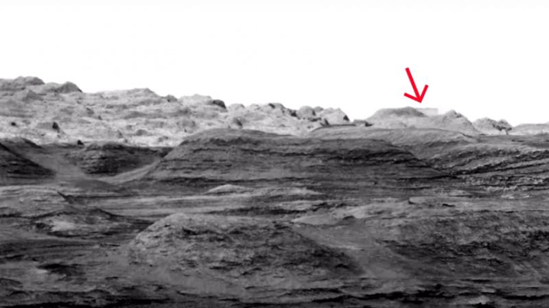 Сотрудники НАСА удалили загадочную постройку на фотографии с Марса