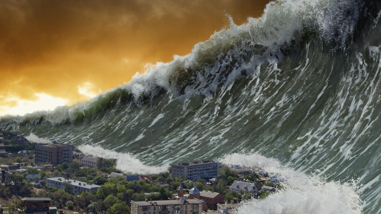 Ученые сообщили о цунами высотой более 1000 метров