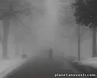 Днем 10 февраля 2014 в Украине, кроме большинства западных областей, ожидается туман