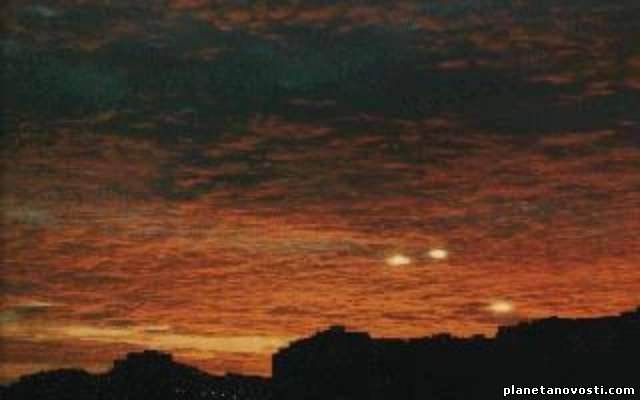 Военные сбили НЛО и скрывают его