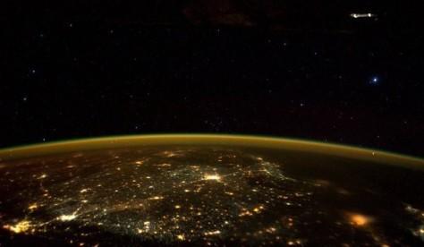 Астронавт МКС сделал фотографию НЛО