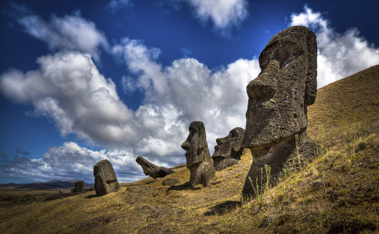 Ученые раскрыли тайну гигантских статуй на острове Пасхи