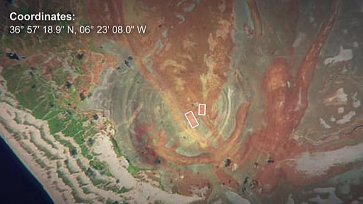 Гигантские структуры у побережья Испании назвали потерянной Атлантидой