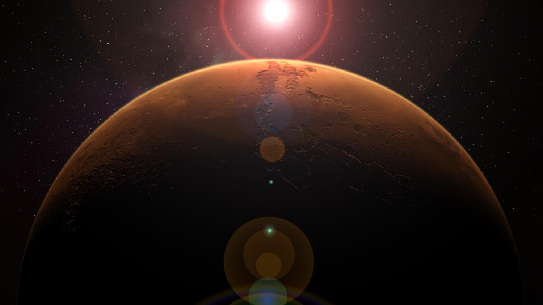 На орбите Марса обнаружены остатки неизвестной планеты