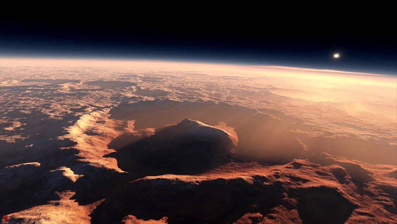 Ученые из США обнаружили признаки жизни на Марсе