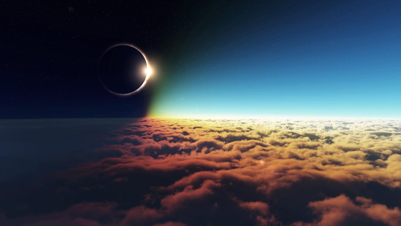 26 февраля можно будет наблюдать кольцевое солнечное затмение
