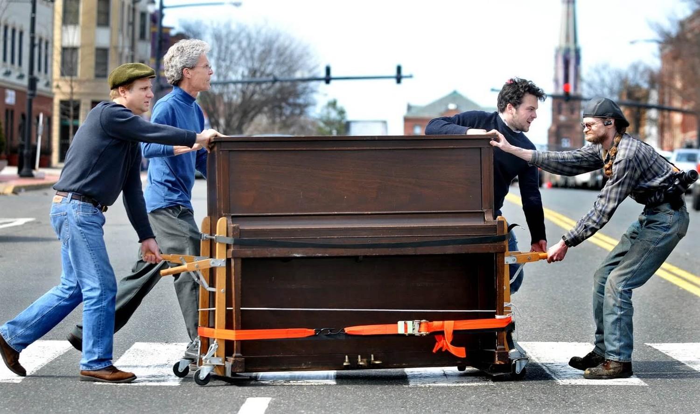Как сделать перевозку пианино
