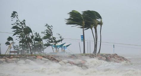 В Тихом океане зародился тропический шторм «Хигос»