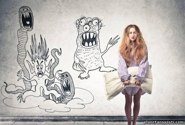 Дурные сны и кошмары, не всегда стимулирует страх
