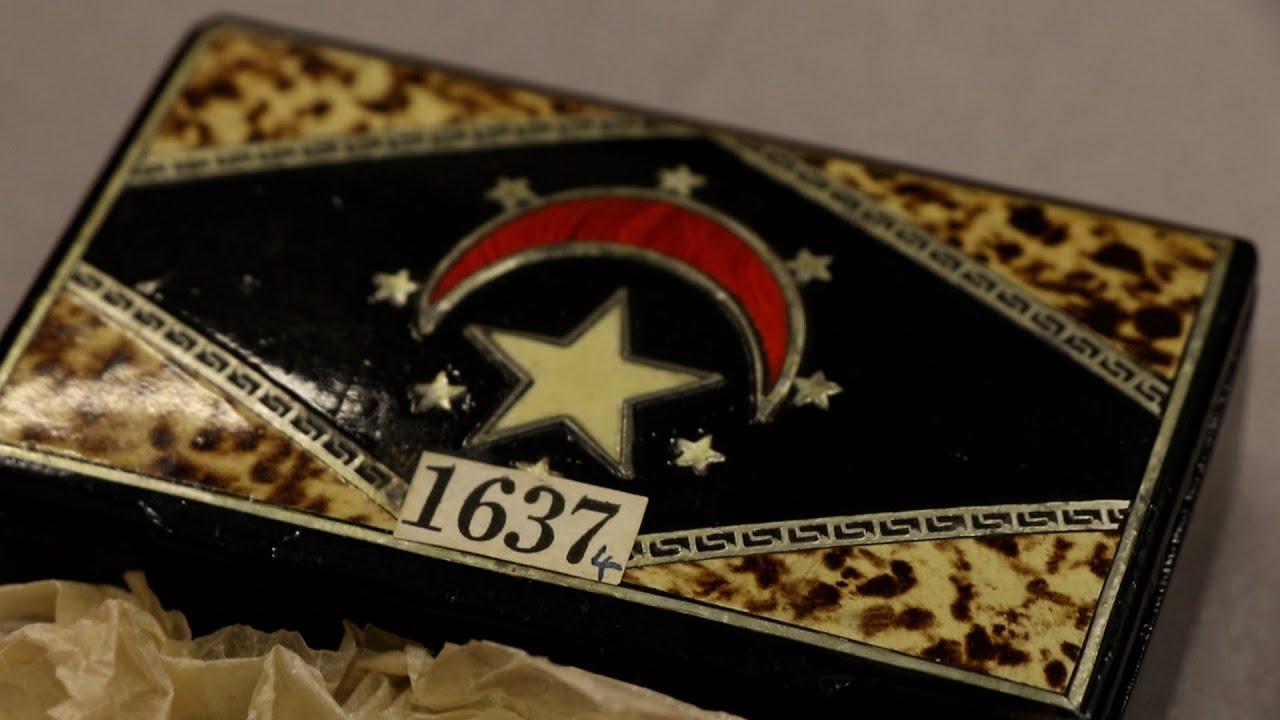 В коробке для сигар обнаружили давно утерянный египетский артефакт