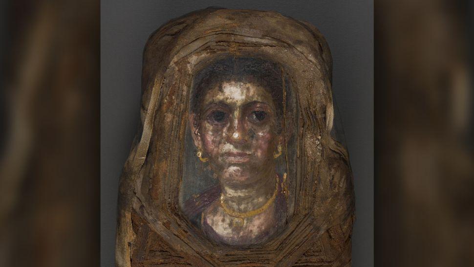 Современные технологии позволили раскрыть тайну египетской мумии