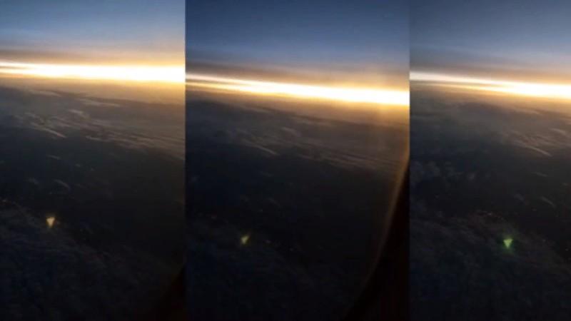 Над Техасом запечатлели треугольный НЛО