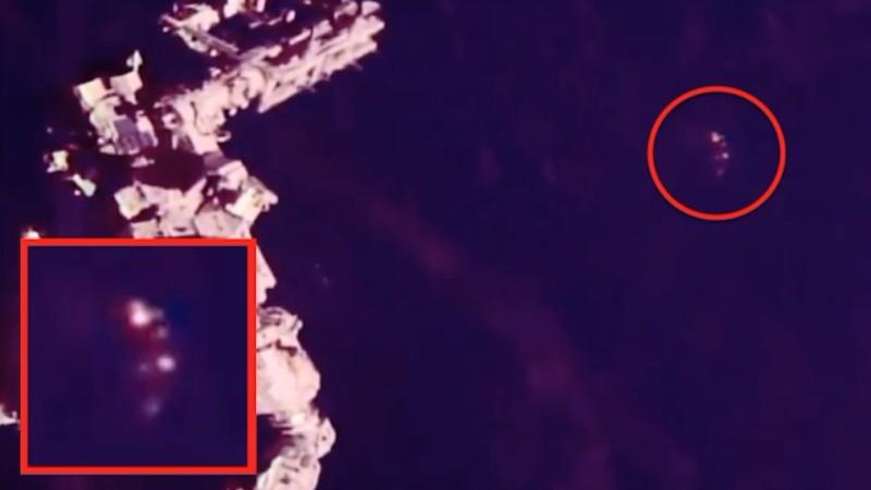 Рядом с МКС зафиксировали секретный космический корабль TR-3B
