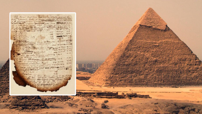 Исаак Ньютон пытался разгадать код пирамид, чтобы узнать дату конца света