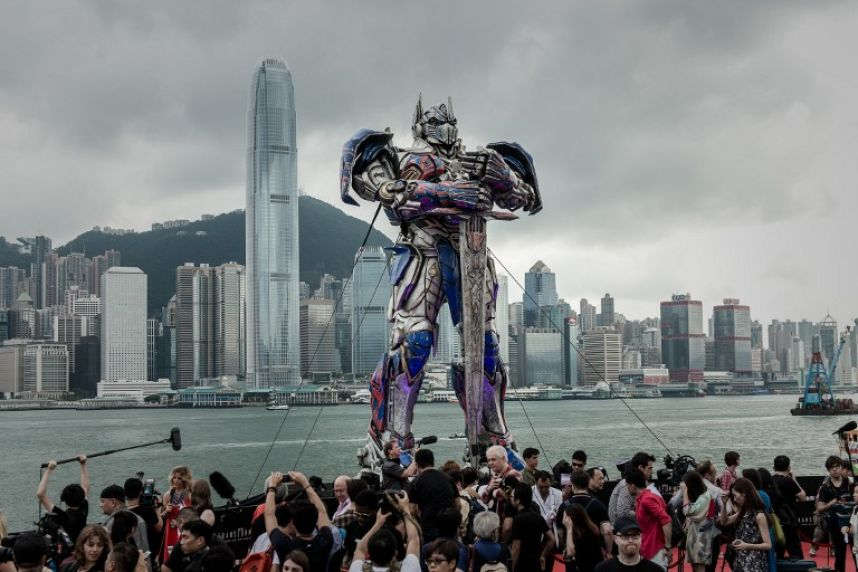 В Гонконге состоялась премьера «Трансформеров-4»