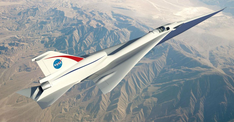 Эксперты NASA приступили к тестированию сверхзвукового самолета в аэродинамическом туннеле Glenn