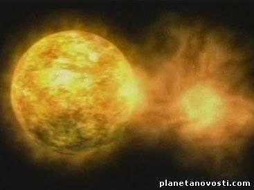 Выброс плазмы после вспышки на Солнце вызвал магнитные бури
