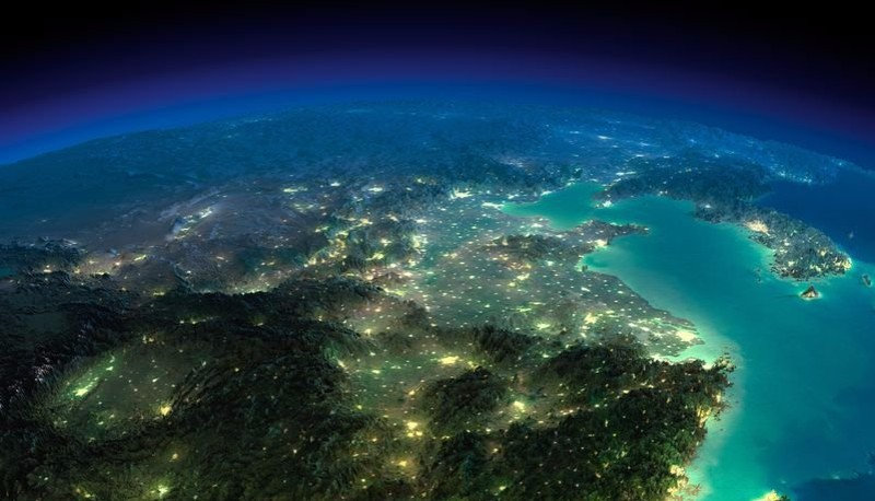 Астронавт Томас Песке заснял «защитное поле» Земли